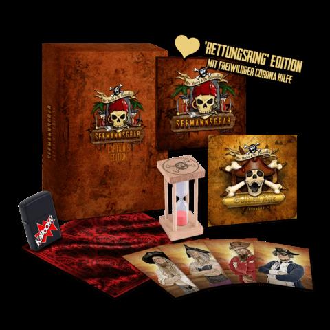 Seemannsgrab - Captains Edition (Ltd. Fanbox + Rettungsring) von Mr. Hurley & Die Pulveraffen - Box Bundle jetzt im Mr. Hurley und die Pulveraffen Shop